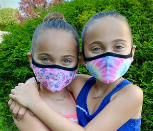 TOP TRENZ Reusable Face Mask - Little Kid - Ages 3-7