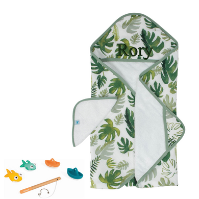 Tropical Palms Bath Time Gift Set