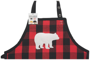 Children's Apron - Buffalo Check