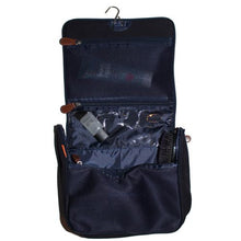 Navy Hanging Travel Kit