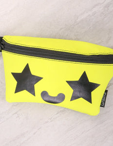 Star Eyes Smiley Ultra-Slim Fanny Pack