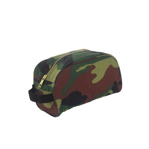 Woodland Camo Traveler Toiletry Bag