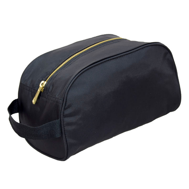 Black Brass Traveler Toiletry Bag