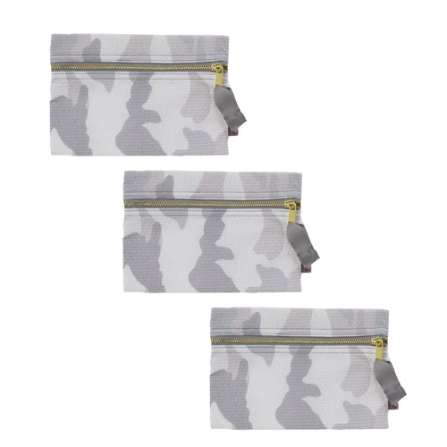 Snow Camo Cosmo Bag - Single