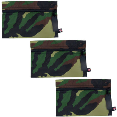 Camo Nylon Cosmo Bag - Single