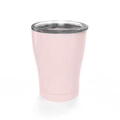 12 Ounce Coffee Tumbler - Sealed Lid - Blush