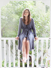 Eberjey: Cozy Time Robe - Northern Lights (navy)