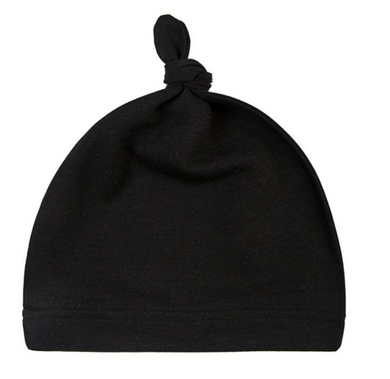Emerson Newborn Hat - Black