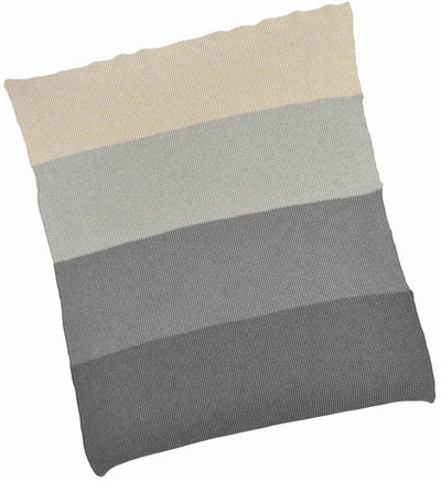 Grey Striped Blanket