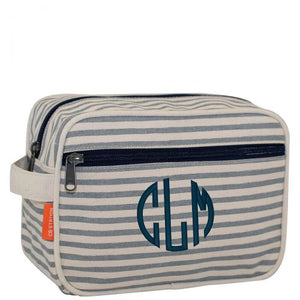 Grey Stripes Travel Bag