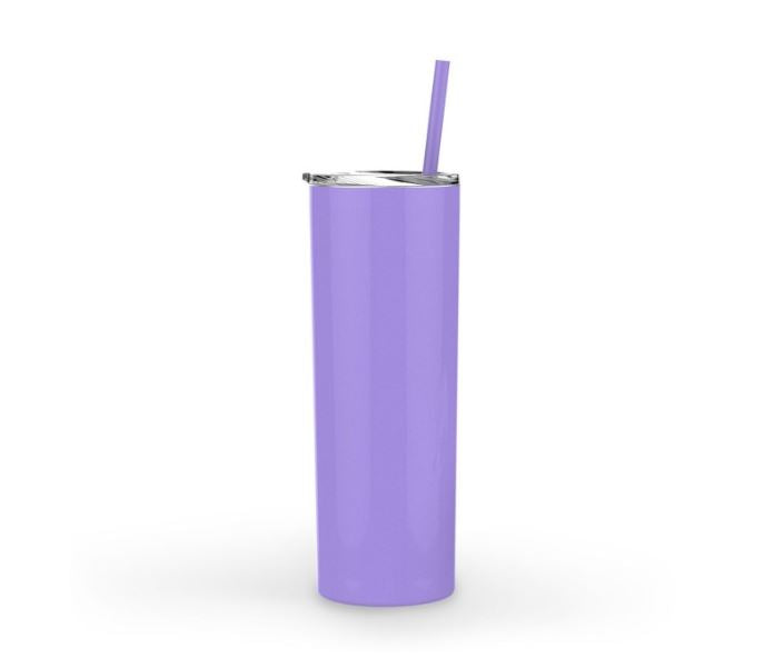 Personalized 20oz Coffee Tumbler - Lavender
