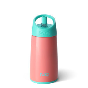 Swig 12 Ounce Stainless Steel Kids Water Bottle - Melon