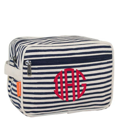 Navy Stripes Travel Bag