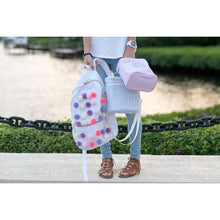 Palm Beach Crew - Pastel Pom Pom Backpack