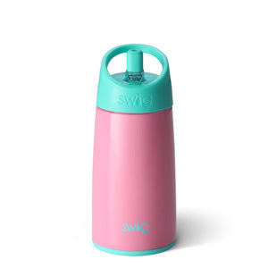 Swig 12 Ounce Stainless Steel Kids Water Bottle - Peony