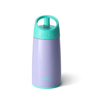 Swig 12 Ounce Stainless Steel Kids Water Bottle - Periwinkle