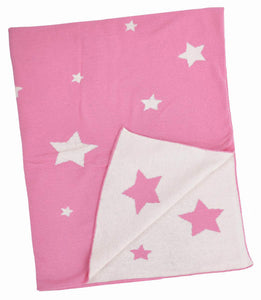Pink Multi Star Blanket