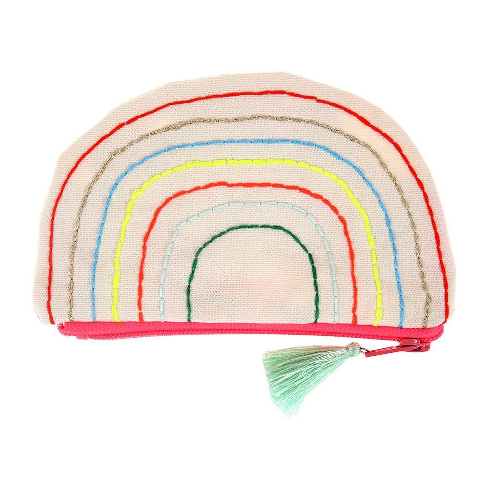 Meri Meri Rainbow Zippered Pouch