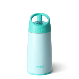 Swig 12 Ounce Stainless Steel Kids Water Bottle - Seaglass