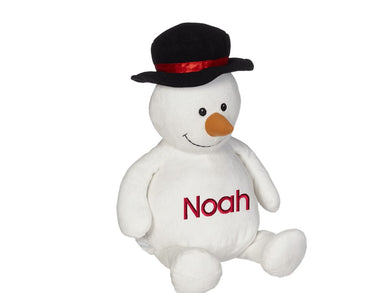Sonny Snowman Personalized Stuffed Animal