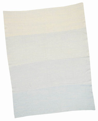 Blue Ombre Baby Blanket