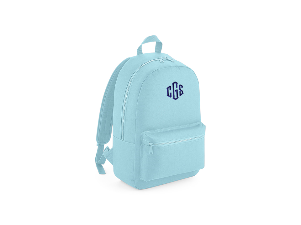 Powder Blue School Back Pack