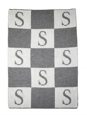 Initial & Blocks Standard Blanket