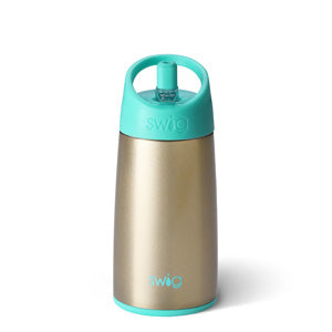 Swig 12 Ounce Stainless Steel Kids Water Bottle - Champagne