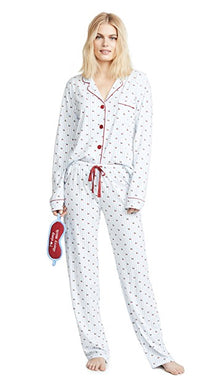 PJ Salvage: Playful Prints Cherry Set with Mask
