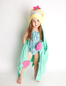 Magical Mermaid Hooded Towel