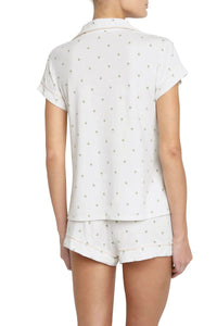 Eberjey: The Giving Palm Short Sleeve/Shorts Set