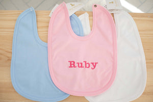 100% Cotton Bib - 4 Colours