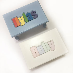 Personalized Puzzle Treasure Box