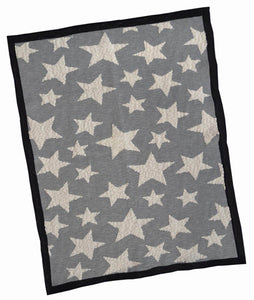 Monochrome Multi Star Blanket