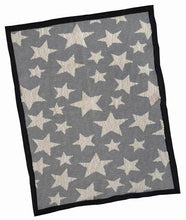 Monochrome Multi Star Large Throw Blanket
