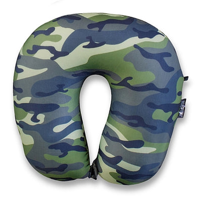 Camoflauge Travel Pillow