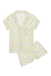 Eberjey: Short Sleeve/Shorts Set - Dianna Lemons