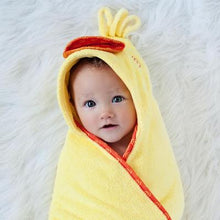 Puddles the Duck Hooded Towel