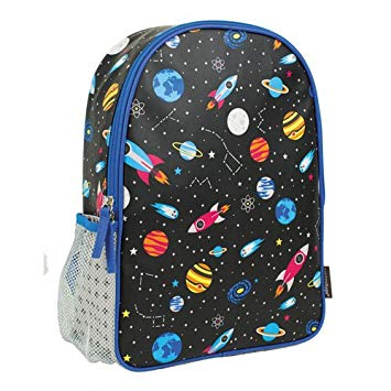 Petit Collage Outer Space Backpack