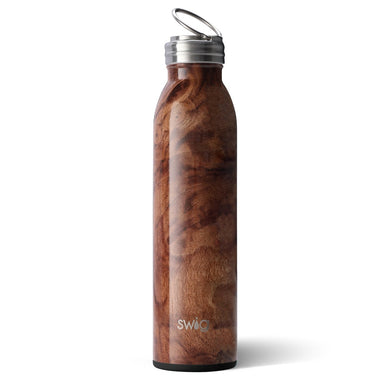 Swig Personalized 20 oz Double Wall Vacuum Insulated Bottle - Black Walnut