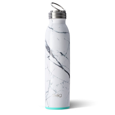 Swig Personalized 20 oz Double Wall Vacuum Insulated Bottle - Marble Slab