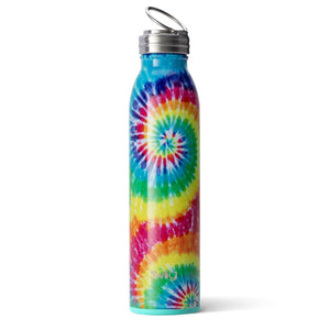 Swig Personalized 20 oz Double Wall Vacuum Insulated Bottle - Swirled Peace