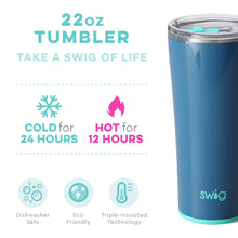 Swig Personalized 22 oz Triple Insulated Tumbler - Denim