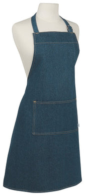Monogrammed Stone Washed Denim Chef Apron