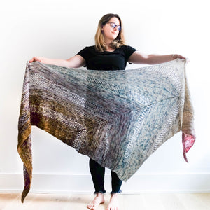 Find your Fade Shawl: Drea Renee Knits