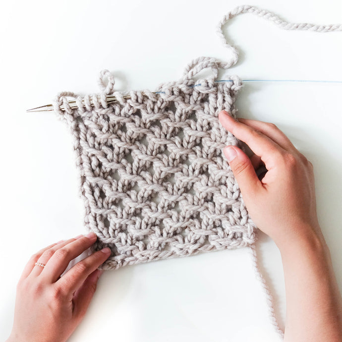 Weekly Stitch: Irish Mesh Stitch