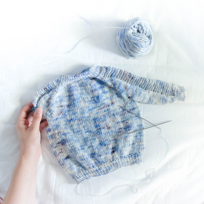 Newborn Flax Light Sweater Review: Tin Can Knits