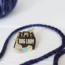 Hard Enamel maker Pin: Bag Lady