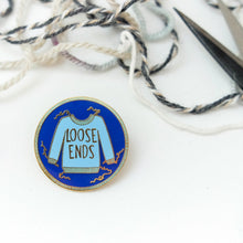 Hard Enamel Maker Pin: Loose Ends