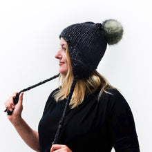 Chunky Earflap Hat Knitting Pattern
